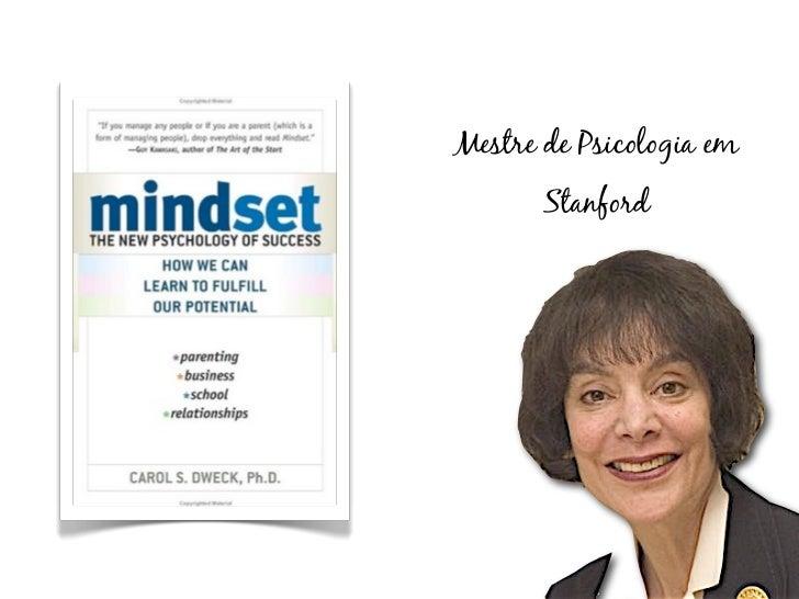 Mestre de Psicologia em       Stanford