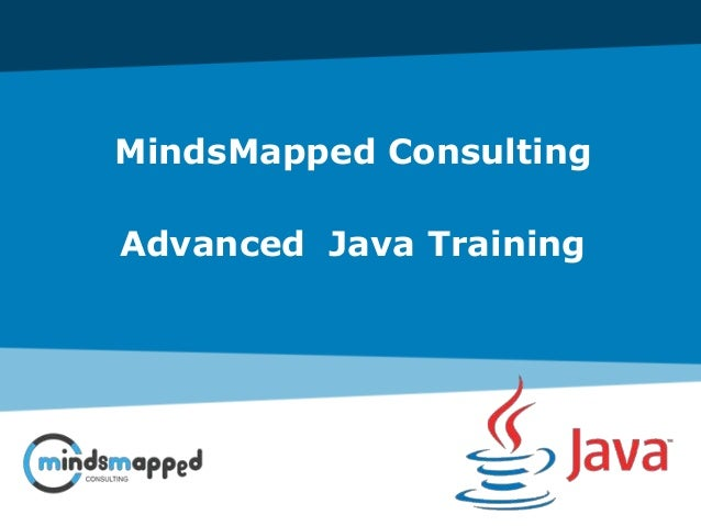 MindsMapped Consulting Advanced Java Training