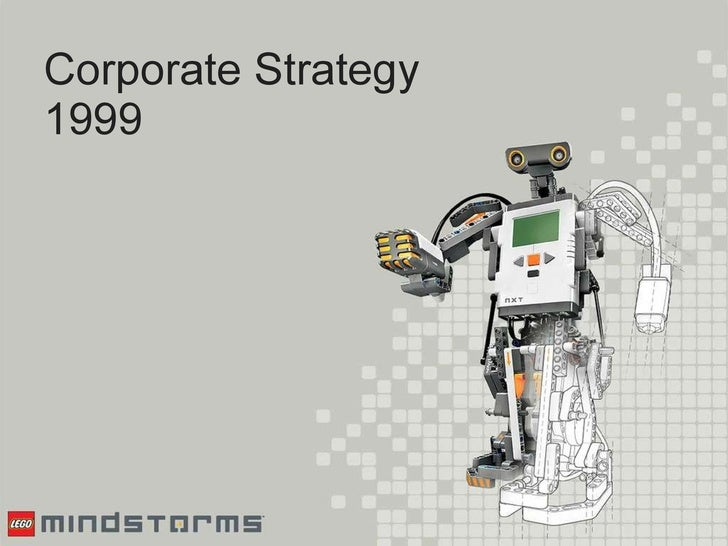 Corporate Strategy 1999
