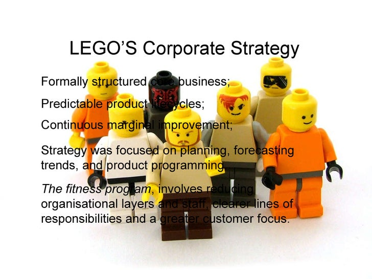 strategic management and lego The msc in international strategic management is a one-year programme for bachelors in business administration, interested in how to analyse, formulate and implement strategies and in becoming a senior organisational leader.