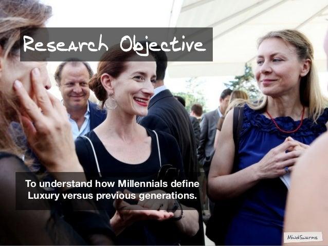 Luxury for Millennials Slide 3