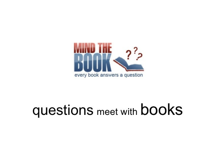 questions   meet with  books