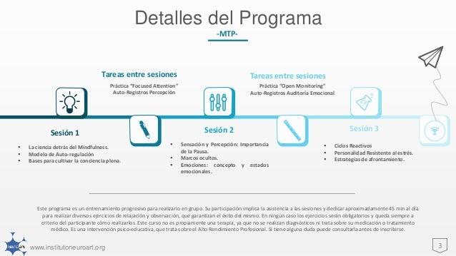 Mind Training Program -MTP- Slide 3