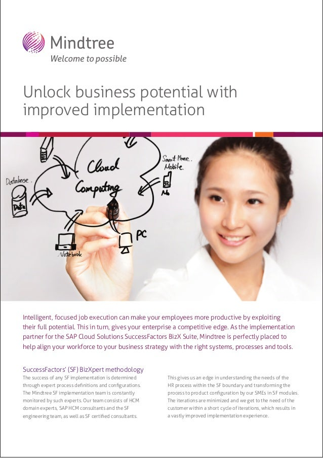 Unlock business potential with improved implementation  Intelligent, focused job execution can make your employees more pr...