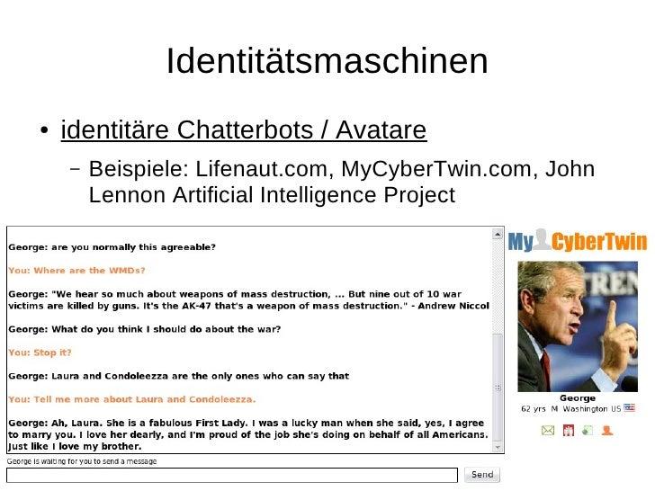 Digitales Afterlife ●   post-mortem-aktive digitale Identitäten     –   testamentarische Algorithmen     –   DeathSwitch.c...