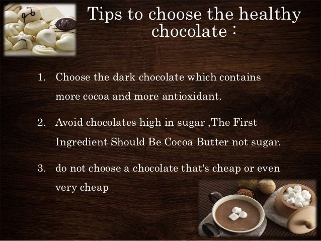 the facts and myth about chocolate