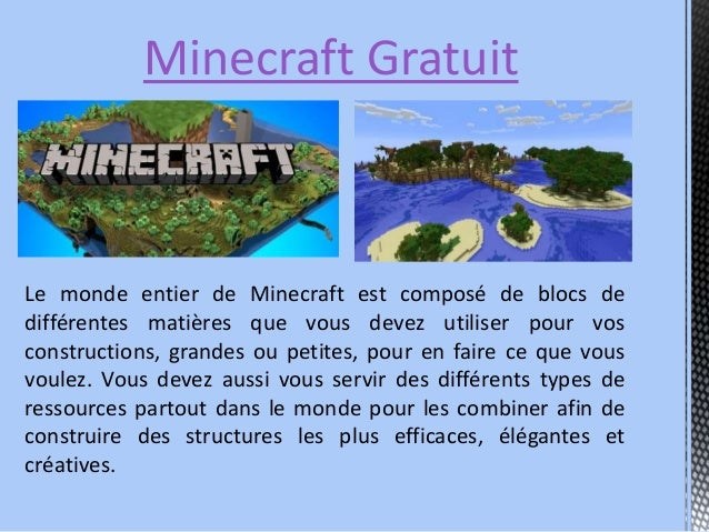 Telecharger Minecraft Slide 3