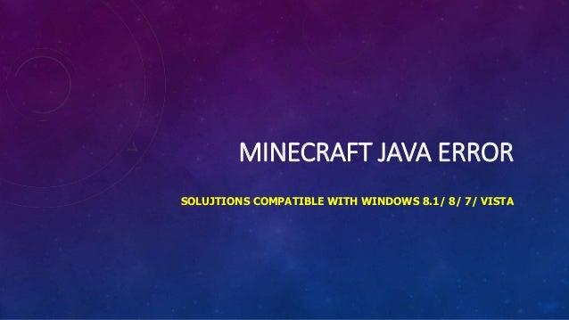 minecraft java runtime error fix
