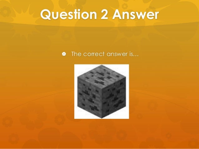 What type of questions are on the Minecraft quiz?