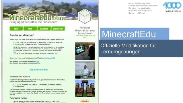 Brechen Wir Auf In Die Minecraft Wildnis In Der Schule