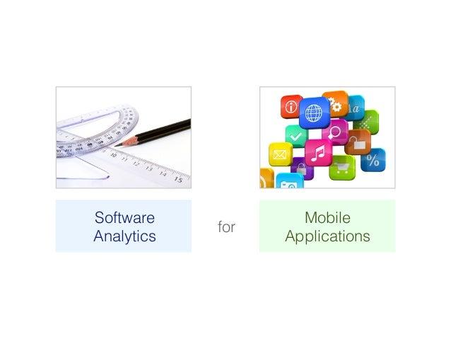 SAMOA – A Visual Software Analytics Platform for Mobile Applications [ICSM2013] Slide 2