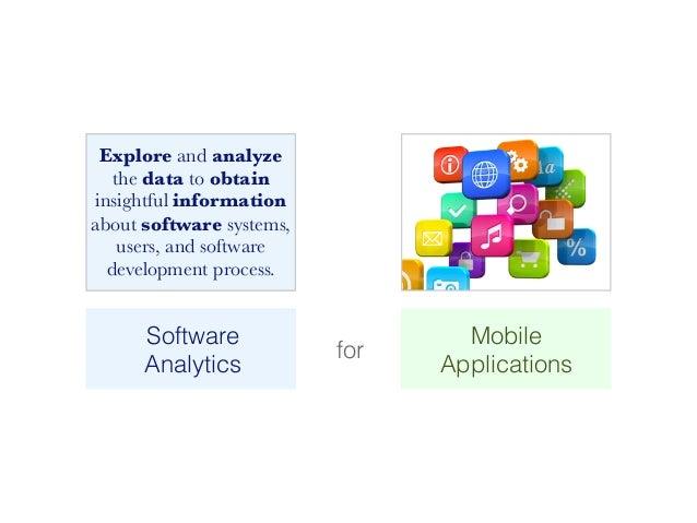SAMOA – A Visual Software Analytics Platform for Mobile Applications [ICSM2013] Slide 3