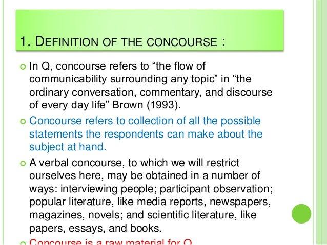 define concourse