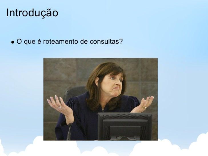 Roteamento de Perguntas em Redes Sociais Slide 2