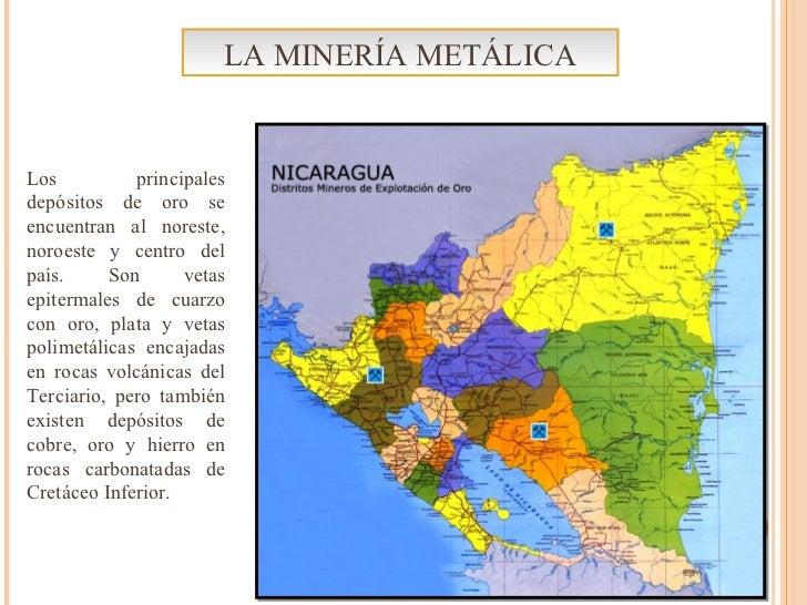 Los principales depósitos de oro se encuentran al noreste, noroeste y centro del país. Son vetas epitermales de cuarzo con...