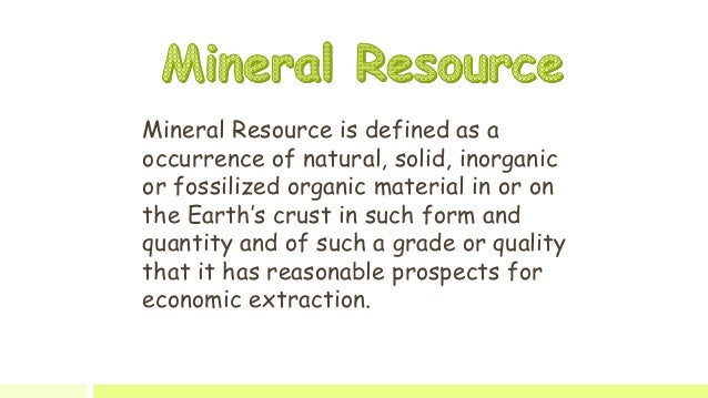 IMPORTANT ORE MINERALS - Mineralogy, Petrology and ...
