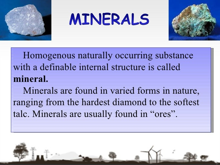 MINERALS AND ENERGY RESOURCES Class 10th Geography Chapter 5