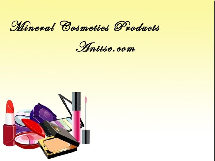 Mineral Cosmetics Products          Aniise.com