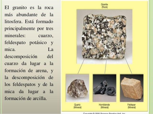 Minerales y rocas for Que es el granito