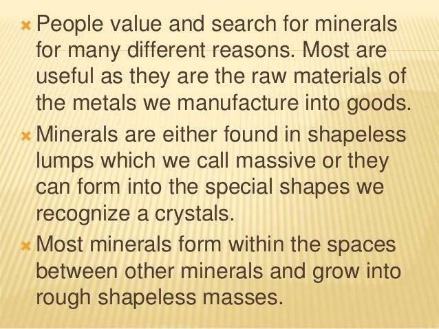 Minerals and-rocks