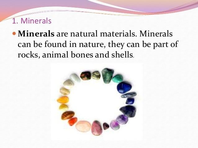 Minerals arianee Slide 2