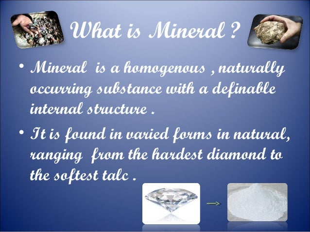 Minerals and energy resources 10 class
