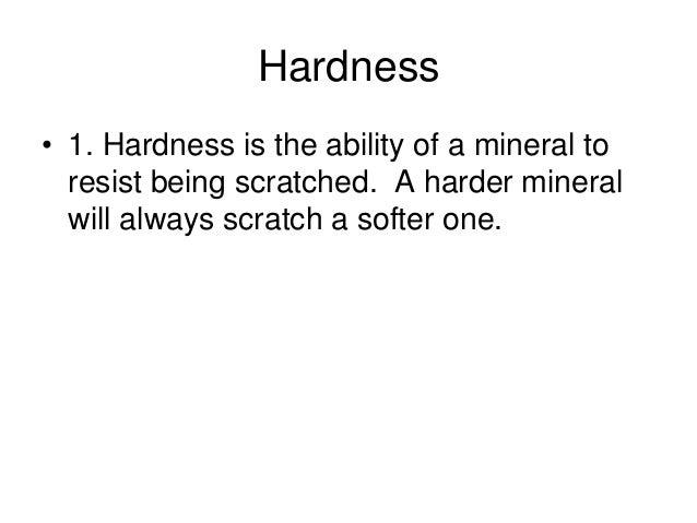 Minerals And Rocks Final