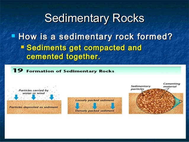 Minerals and rocks for presentations