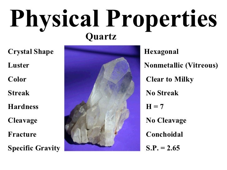 How To Tell A Physical Property
