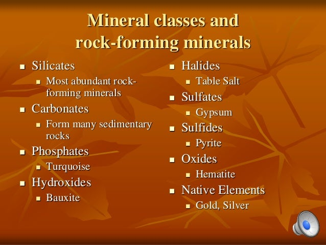 Hpu Ncs2200 Minerals Amp Rocks Chap 2 Amp 3