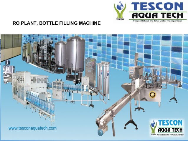 water bottling plant business plan