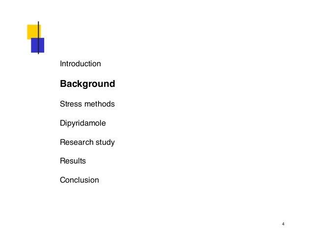 Persantine Thallium Study