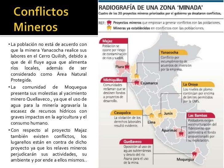 ConflictosMineros La población no está de acuerdo con que la minera Yanacocha realice sus labores en el Cerro Quilish, deb...