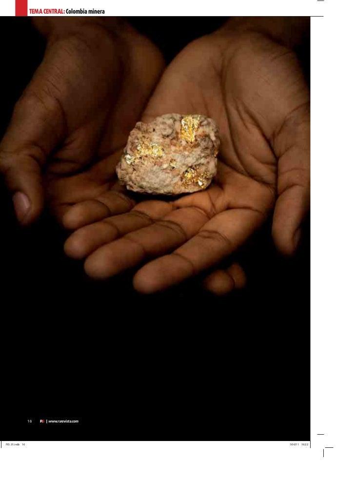 TEMA CENTRAL: Colombia minera16   RS | www.rsrevista.com