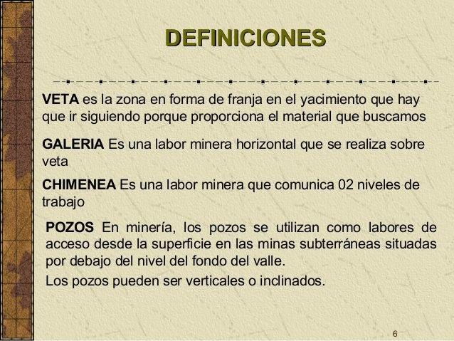 Mineria subterranea de oro upc 2014 gerardo d as for Que es una beta de oro