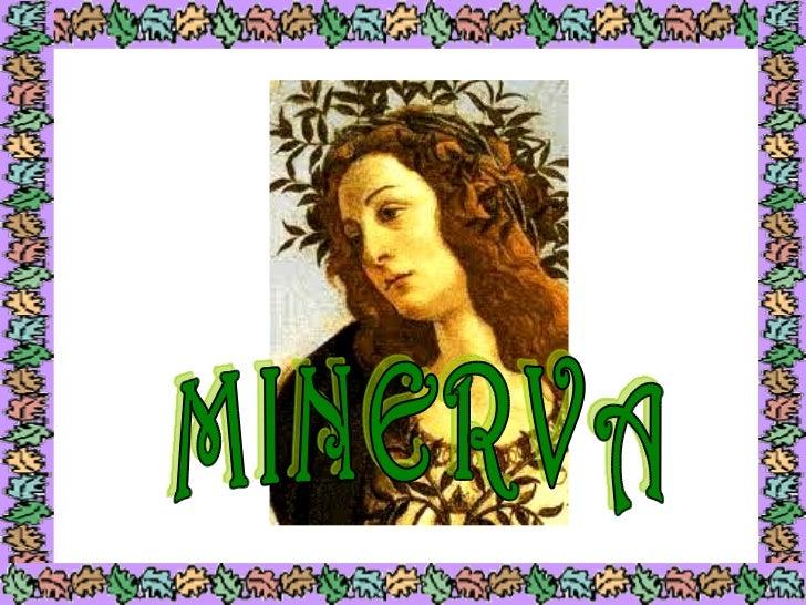 HISTORIA       (Nacimiento de Minerva)