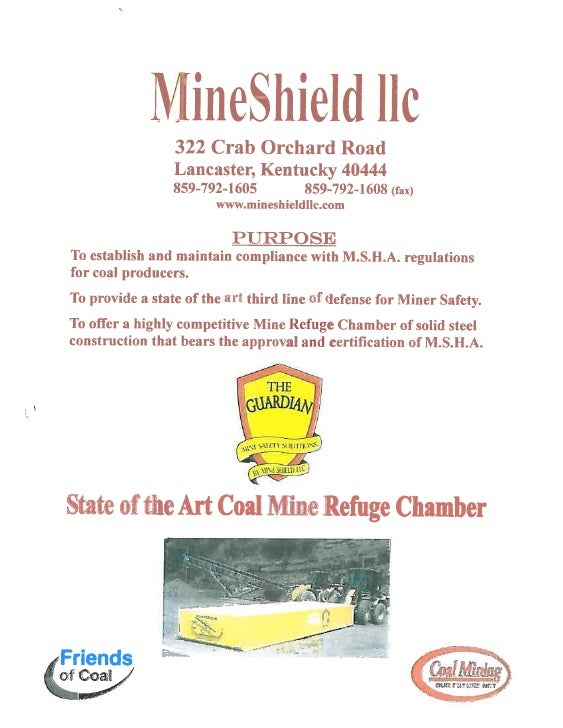 Mine Shield, Llc