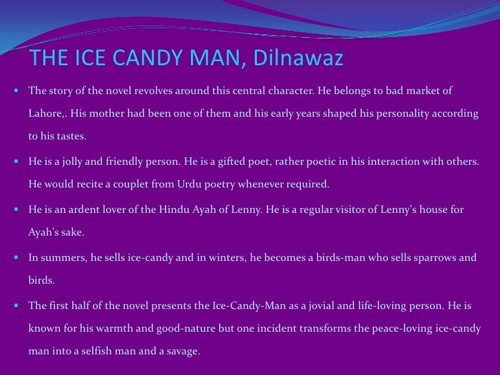 ICE CANDY MAN NOVEL PDF