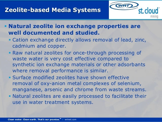 Natural Zeolites In Water Treatment How Effective Is Their Use