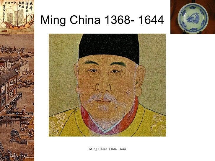 Ming China 1368- 1644