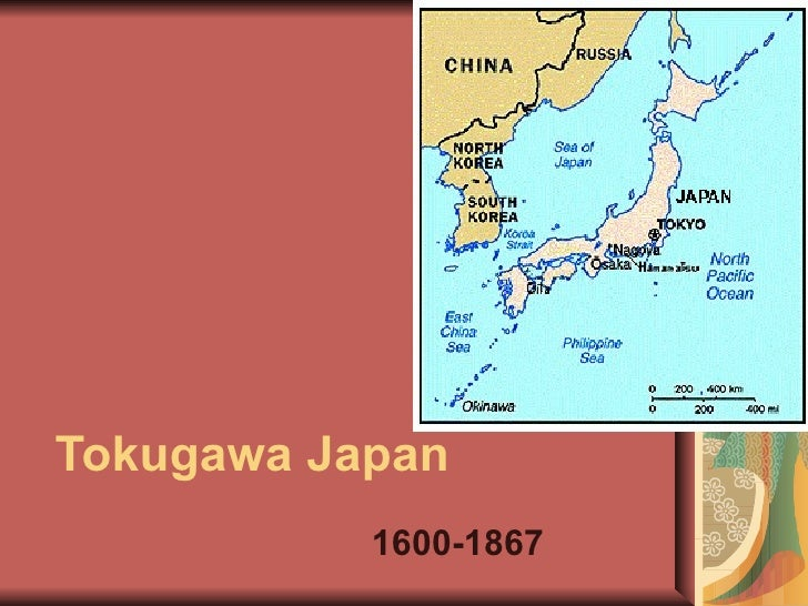 Ming And Tokugawa Intro - Japan map 1600