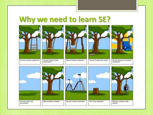Why we need to learn SE?