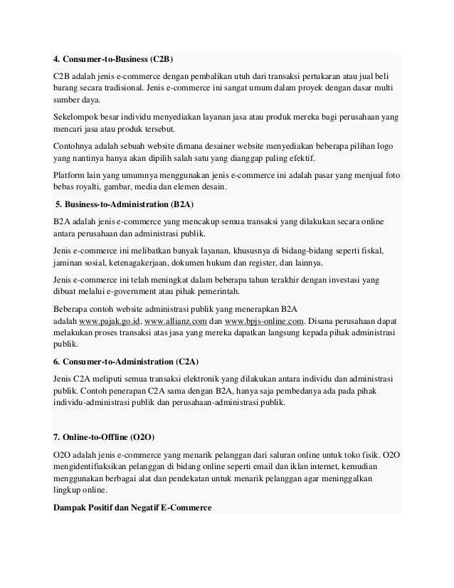 Minggu 5 Model Bisnis Konvensional Waralaba Dan E Commerce