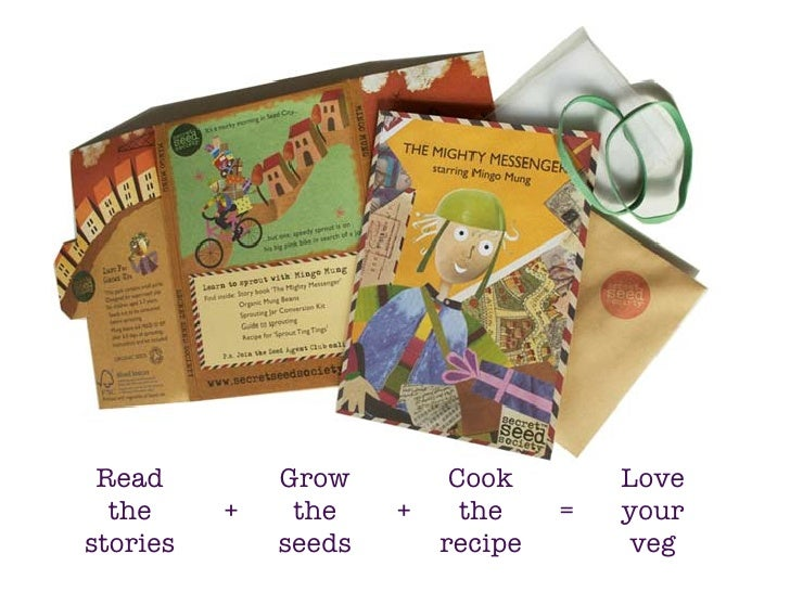 Read         Grow         Cook        Love   the     +    the    +     the    =   your stories       seeds       recipe   ...