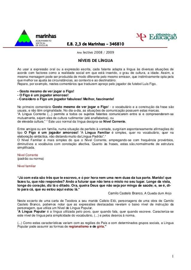 marinhas             AGRUPAMENTO             VERTICAL             DE ESCOLAS          E.B. 2,3 de Marinhas – 346810       ...