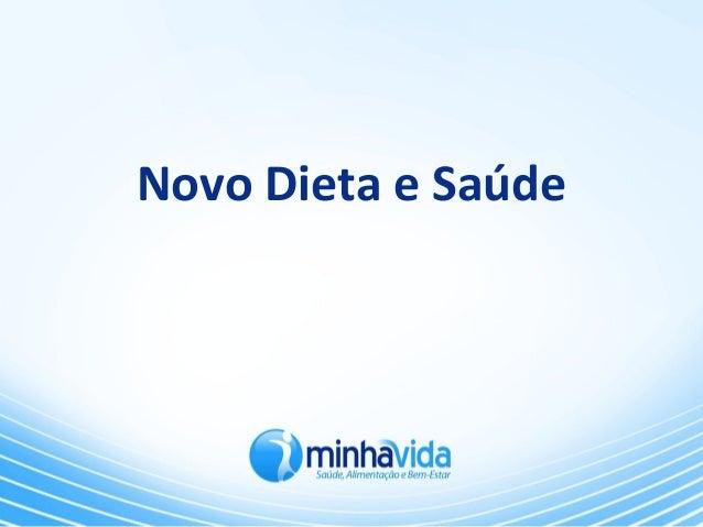 Novo Dieta e Saúde