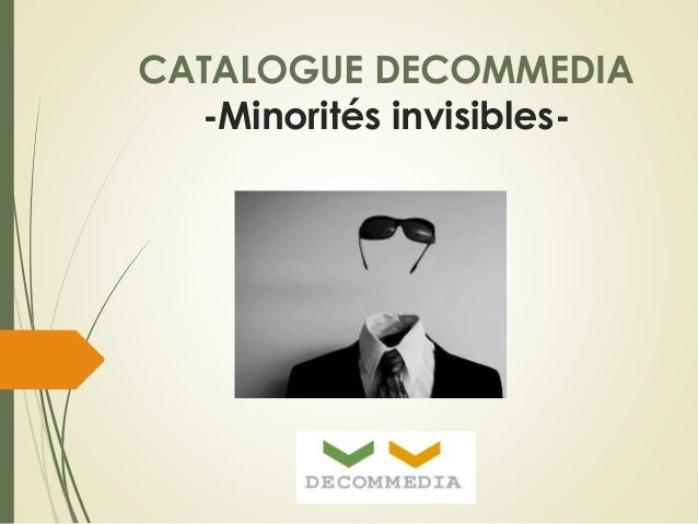 CATALOGUE DECOMMEDIA  -Minorités invisibles-