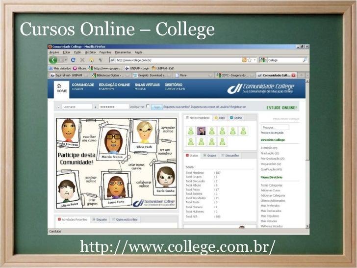Cursos Online – College       http://www.college.com.br/