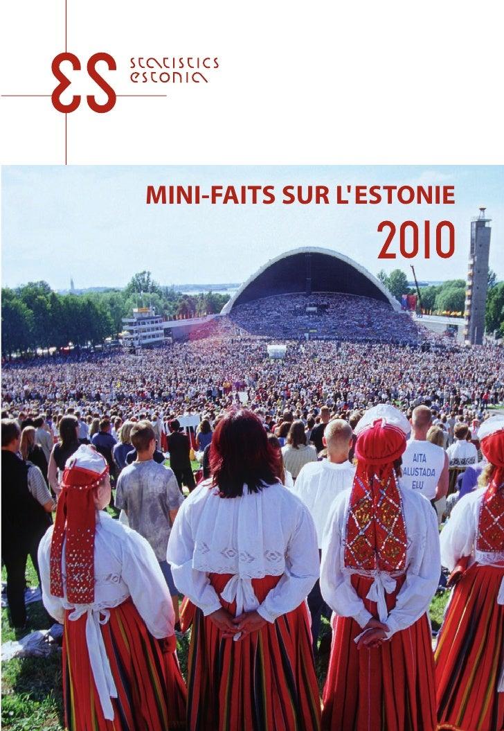 Mini-faits sur l'Estonie 2010