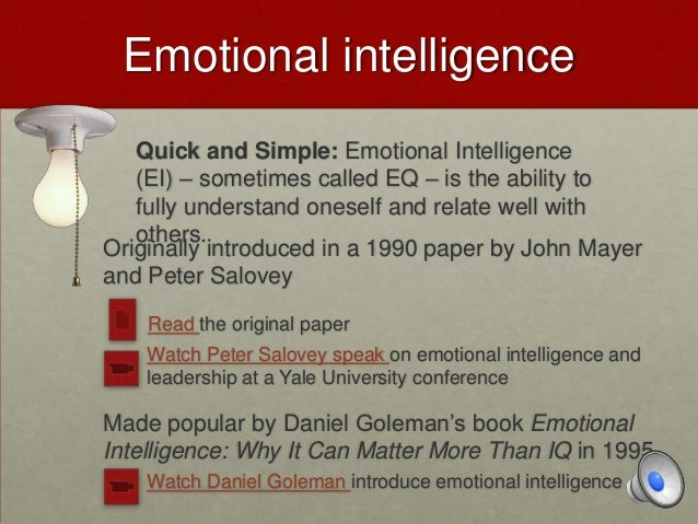emotional intelligence vs cognitive intelligence essay Keywords: children's emotional intelligence, early childhood, child development   promote the importance of this issue through write a summary in a form of  literature review  32 intelligence and cognitive intelligence (iq.